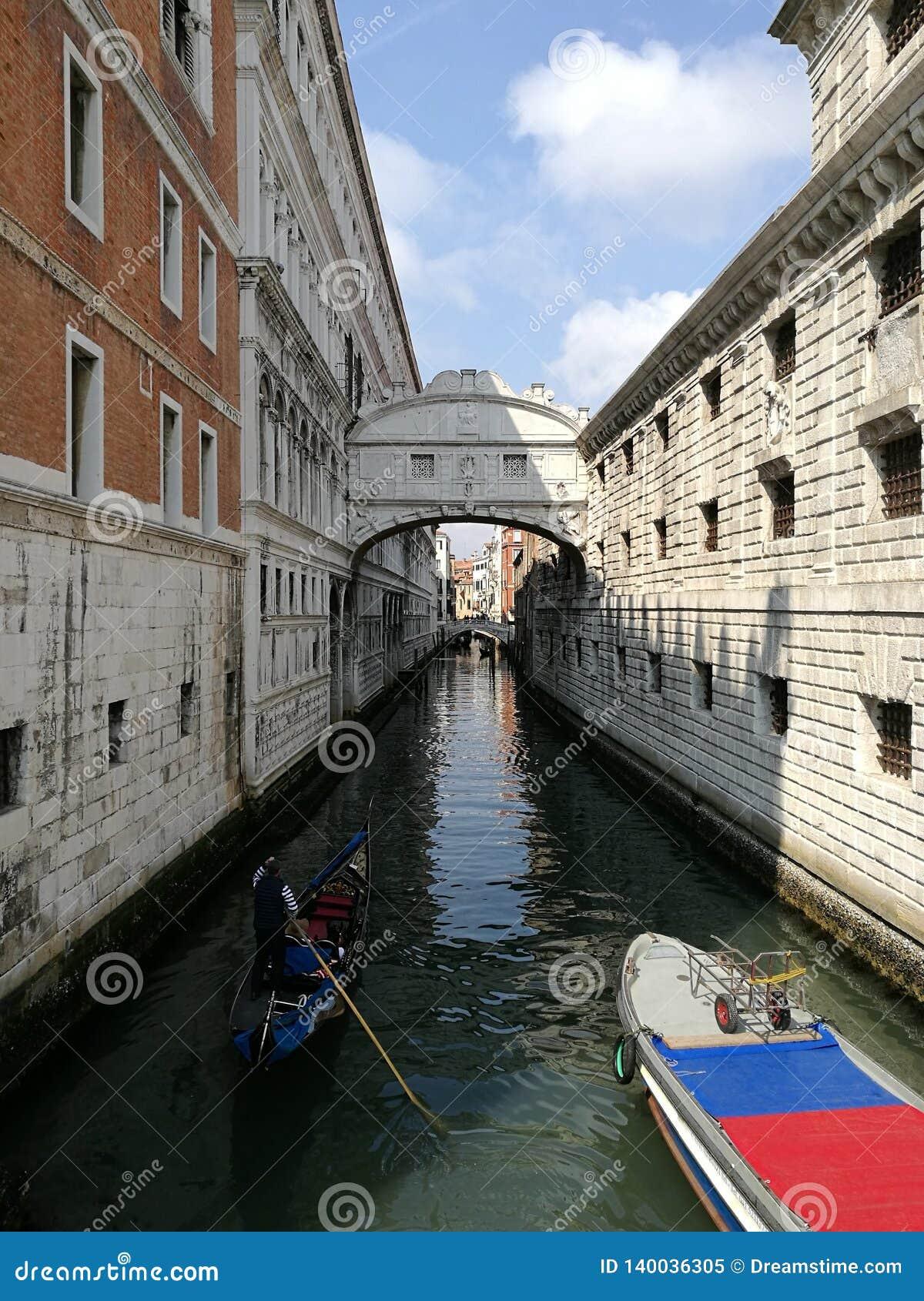 Brug van Sighs Venetië