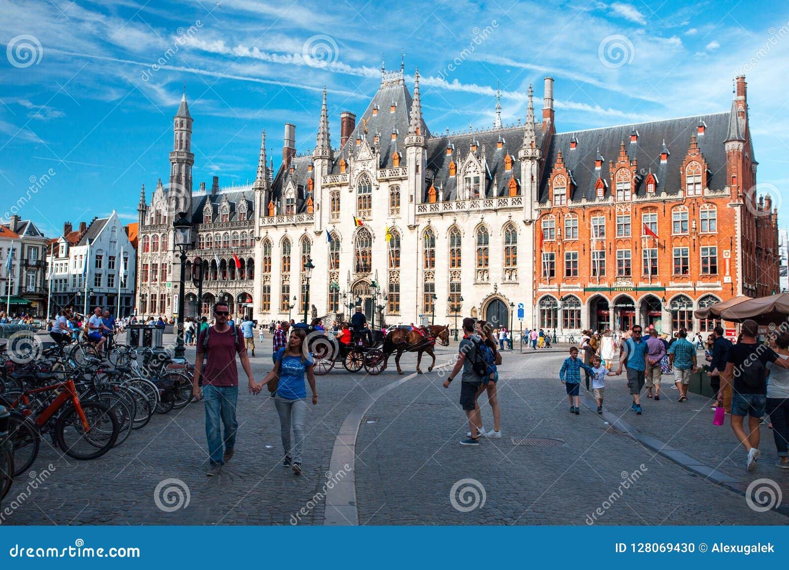 Bruges marknadsfyrkant
