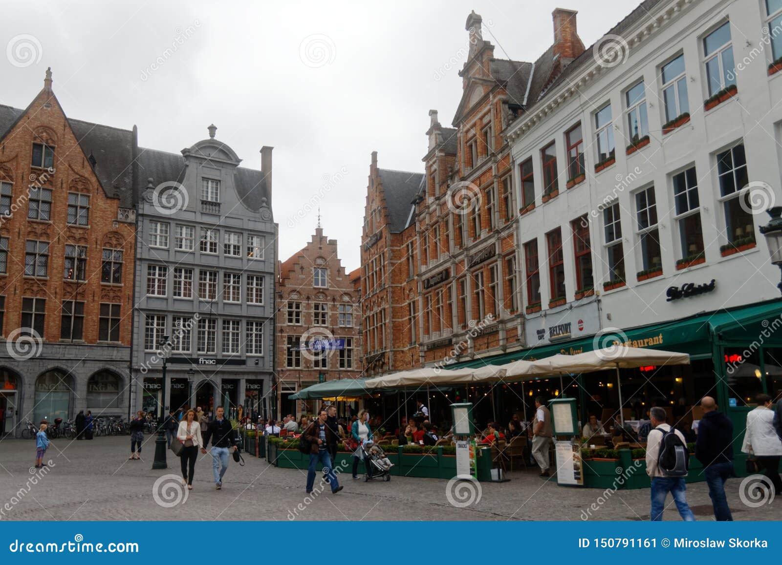 Brugge, wśród pięknych miast w Belgia 1