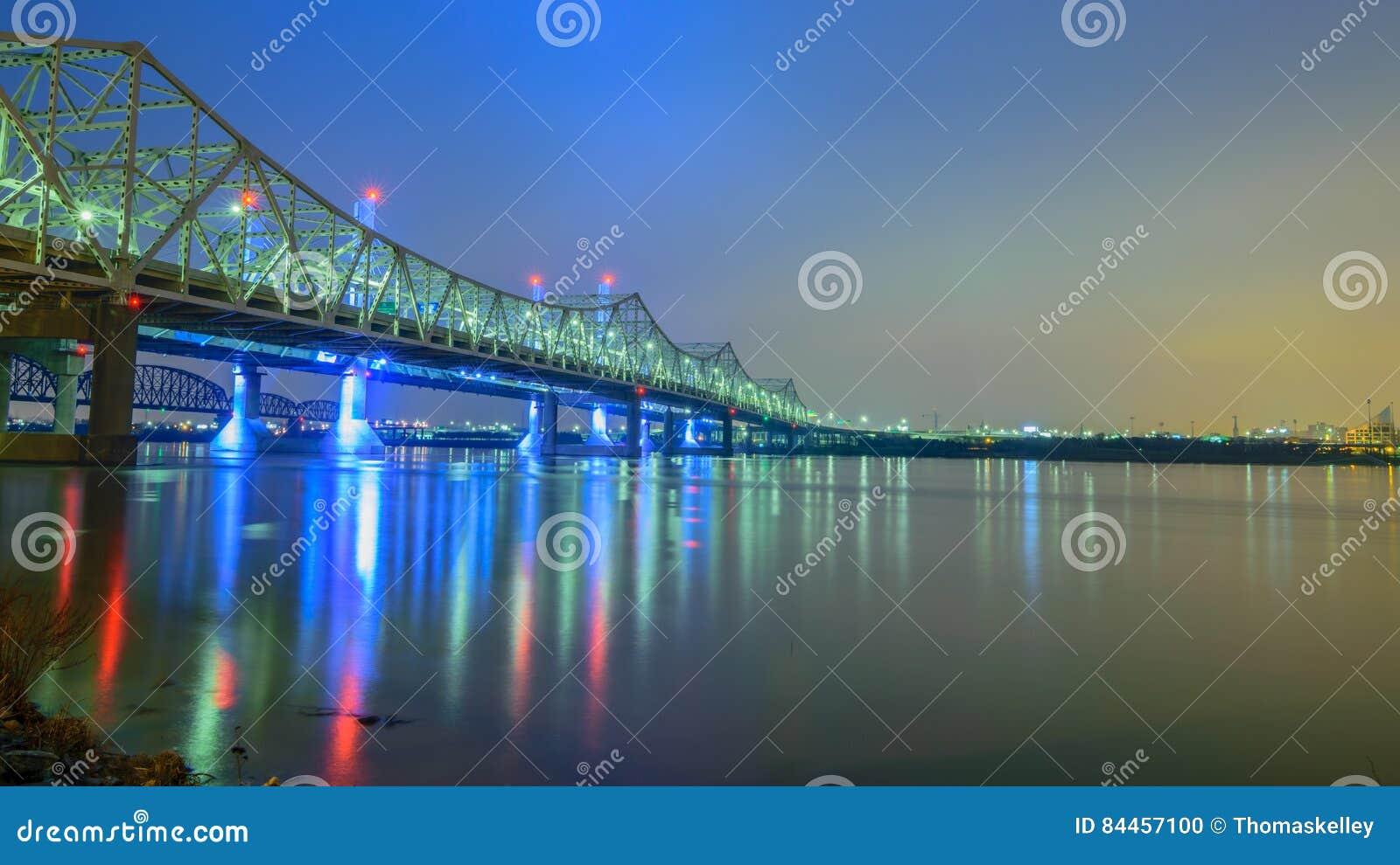 Bruggen over de Rivier van Ohio