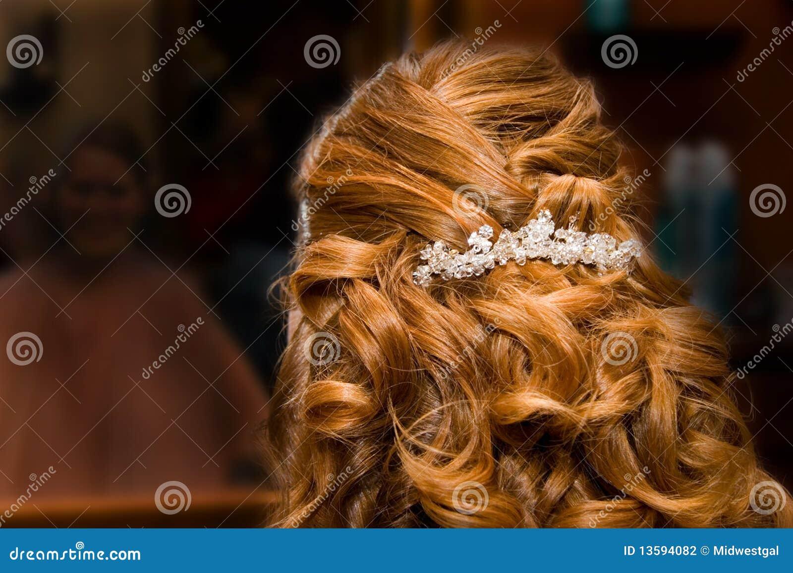 Bruid bij de Salon van het Haar