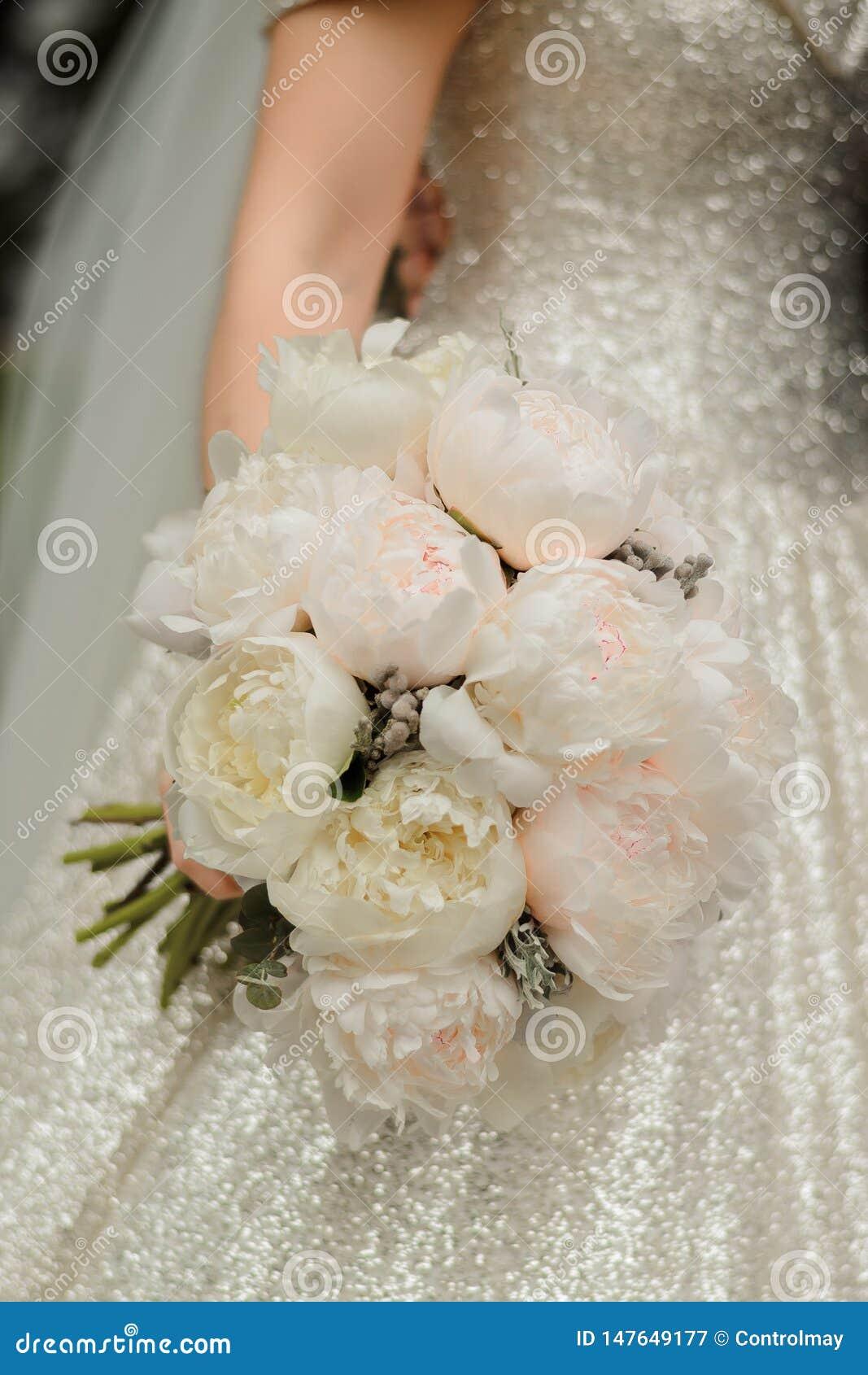 Bruid bij een huwelijksceremonie