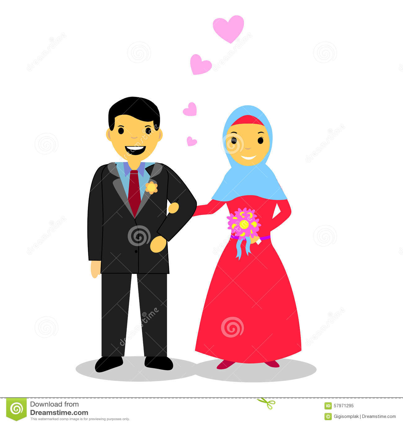 Moslim dating bruiden
