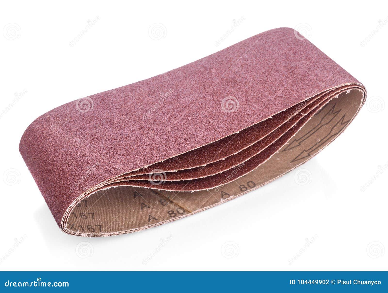 Bruin schuurpapier voor uw houtbewerking