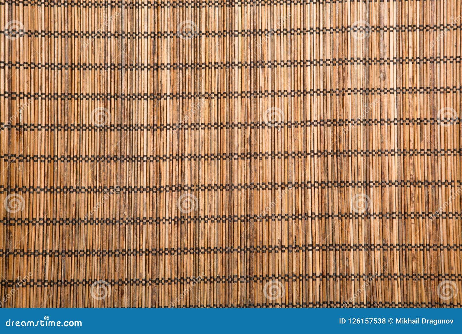 Bruine bamboemat