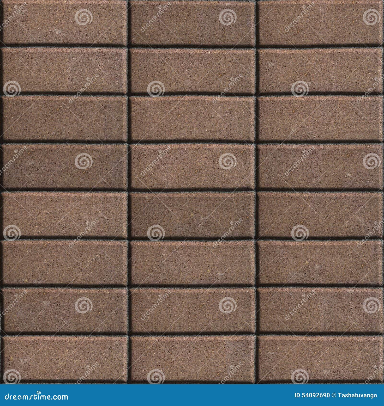Bruine het Bedekken Plakken Opgemaakte Rechthoeken
