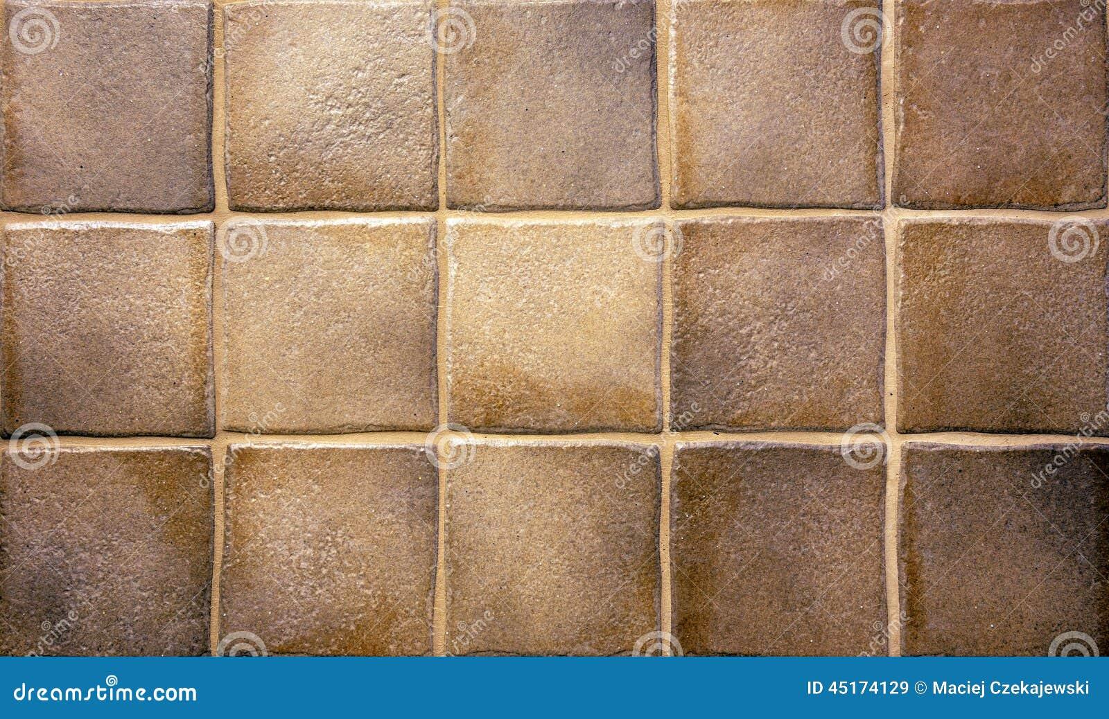 keukentegels met afbeeldingen : Bruine Keukentegels Stock Afbeelding Afbeelding Bestaande Uit