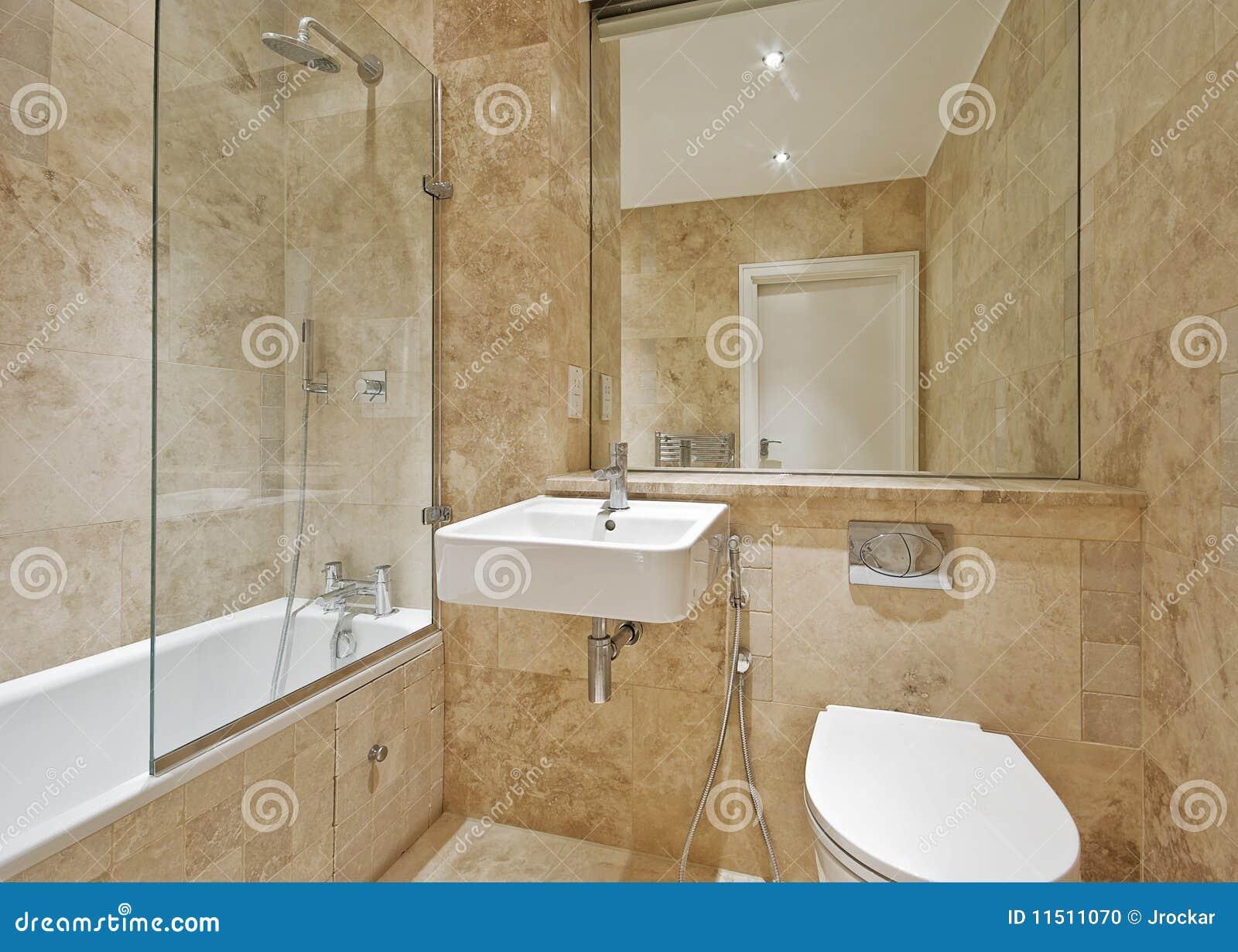 Bruine marmeren badkamers stock foto afbeelding bestaande uit marmer 11511070 - Marmeren douche ...