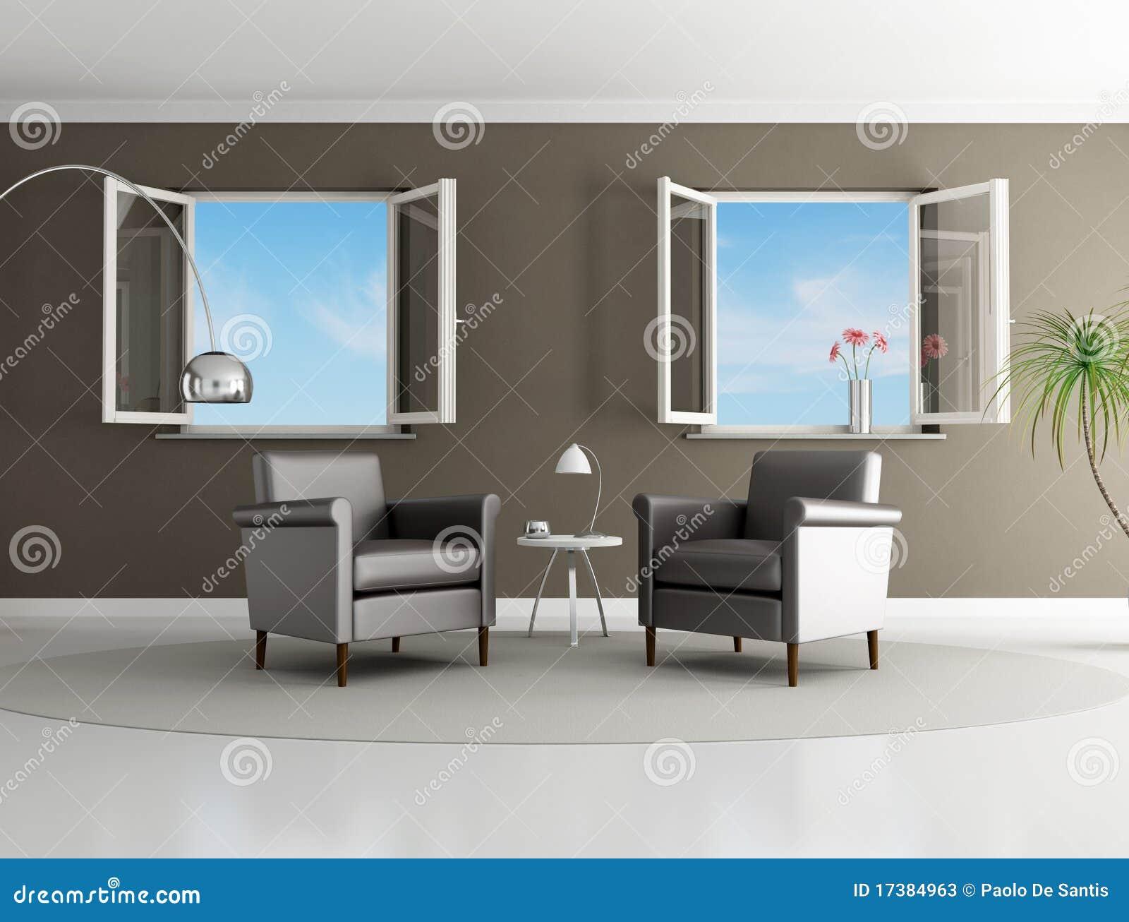 Bruine moderne woonkamer stock illustratie afbeelding bestaande uit tapijt 17384963 - Fotos van moderne woonkamer ...