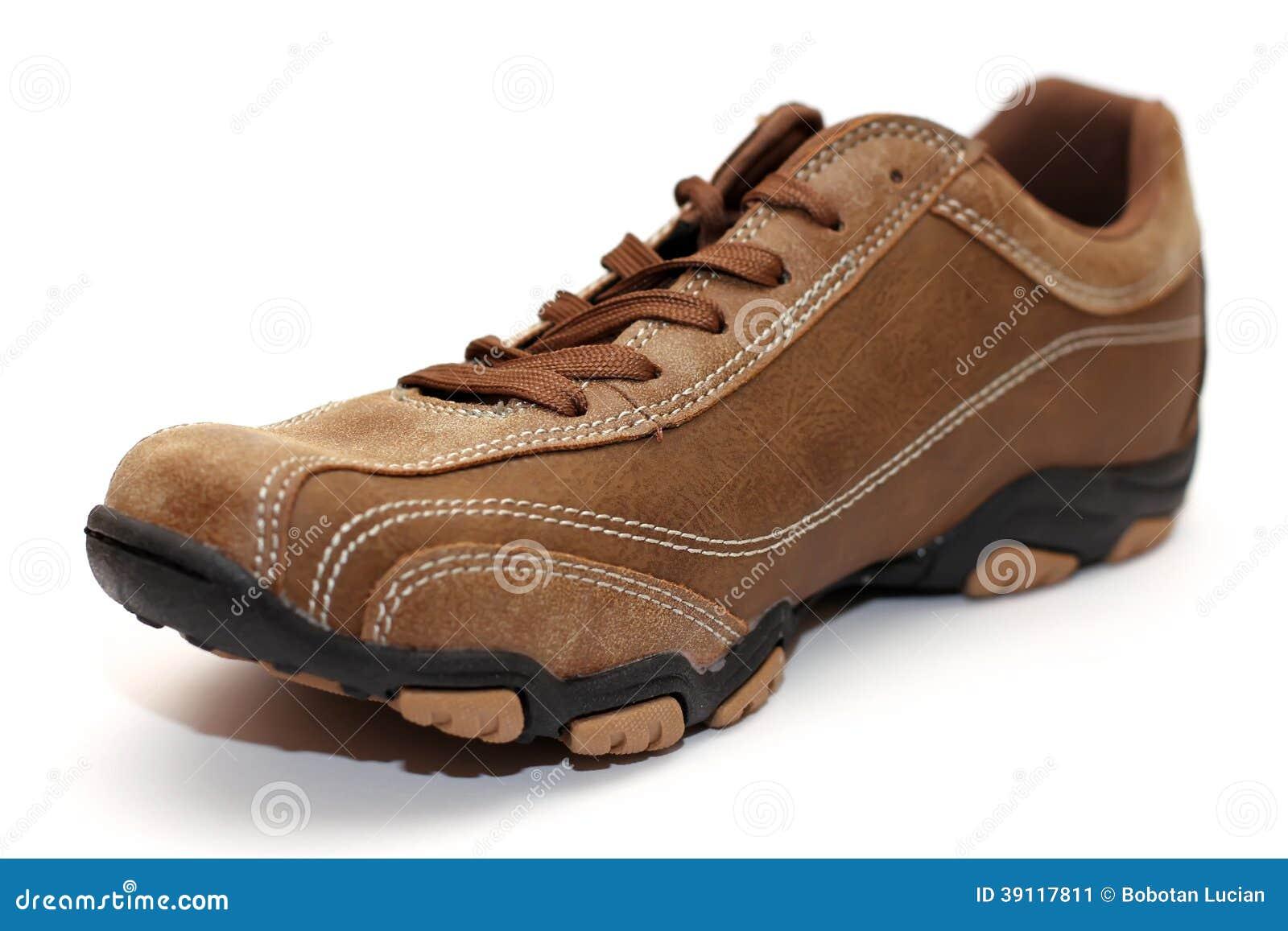 Bruine schoen