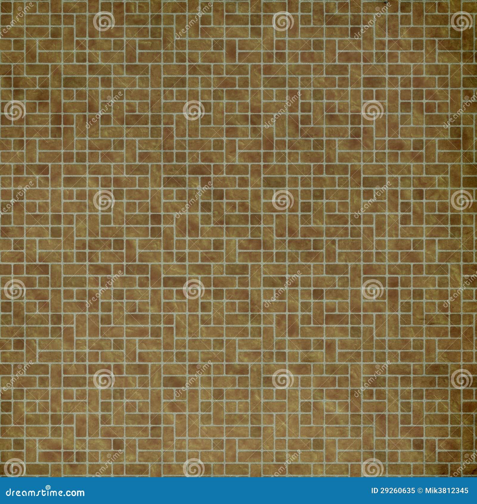 Bruine tegels stock illustratie illustratie bestaande uit for Bruine tegels