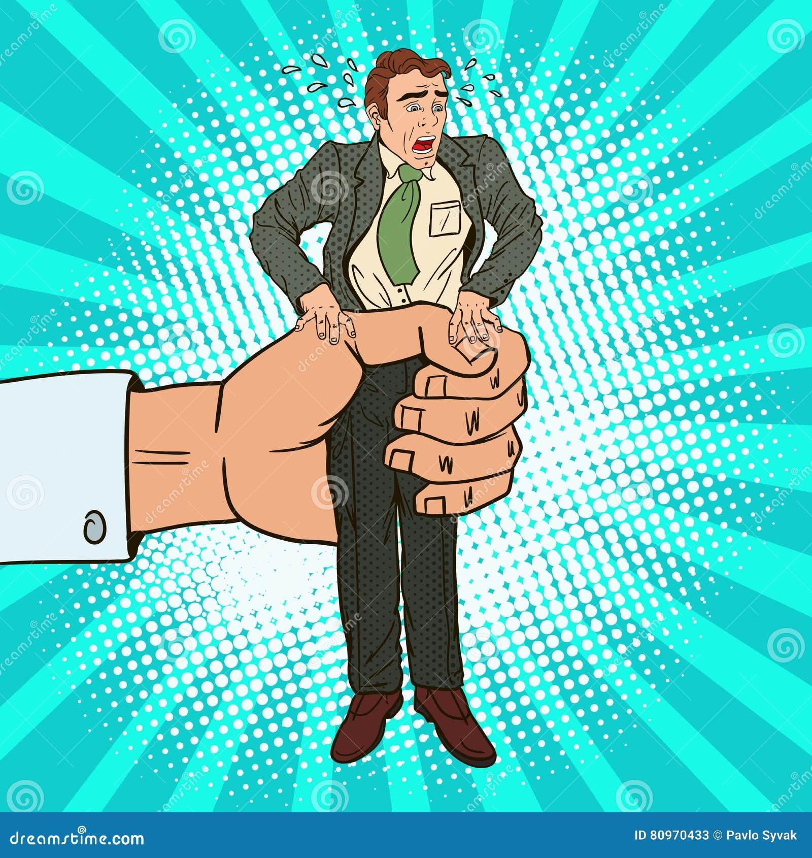 Bruit Art Office Worker de compressions de grande main d employeur