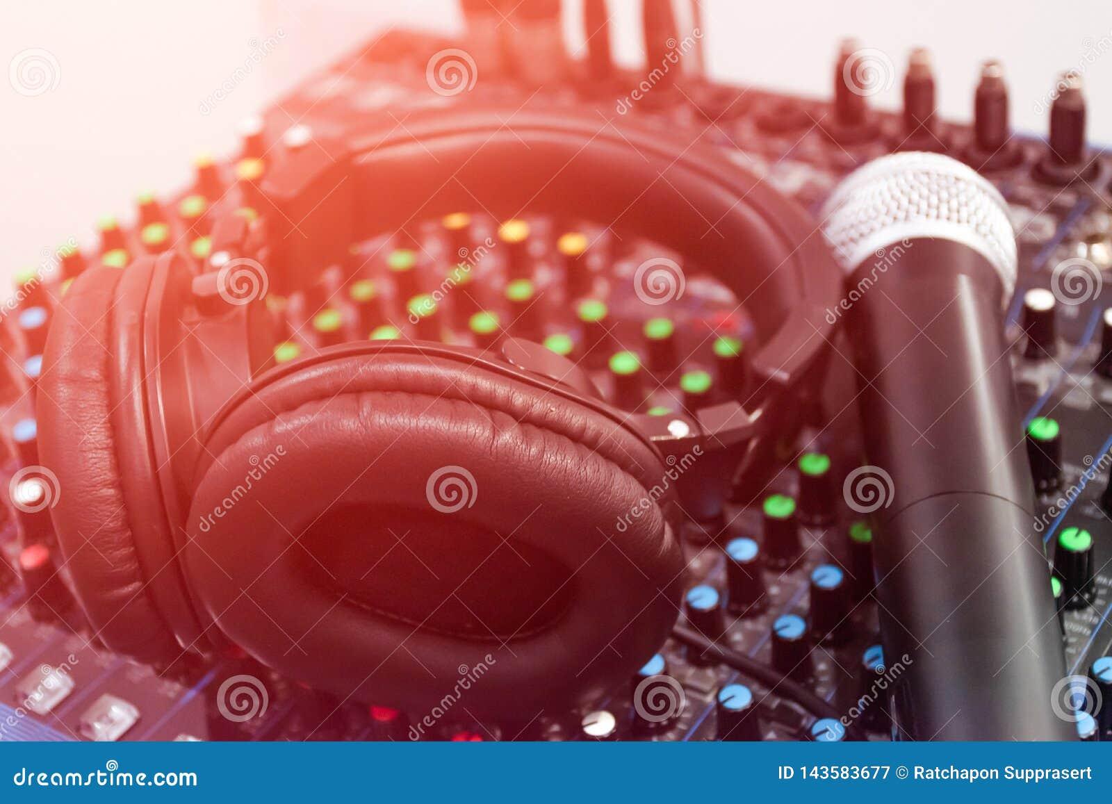 Bruit audio de mélangeur