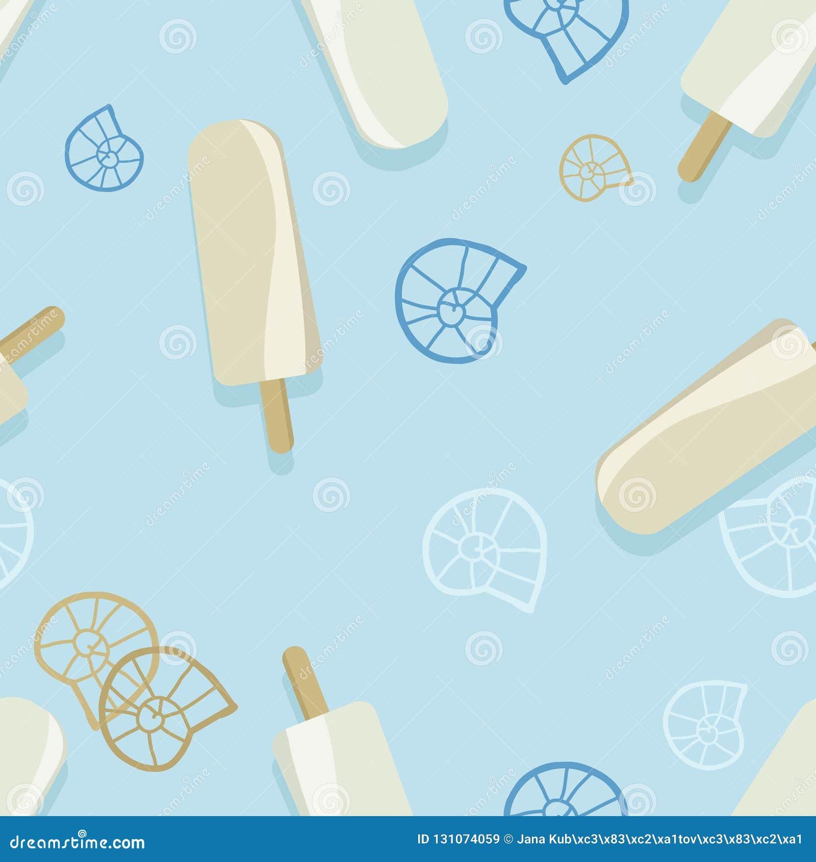 Bruits de glace et conchs d escargot
