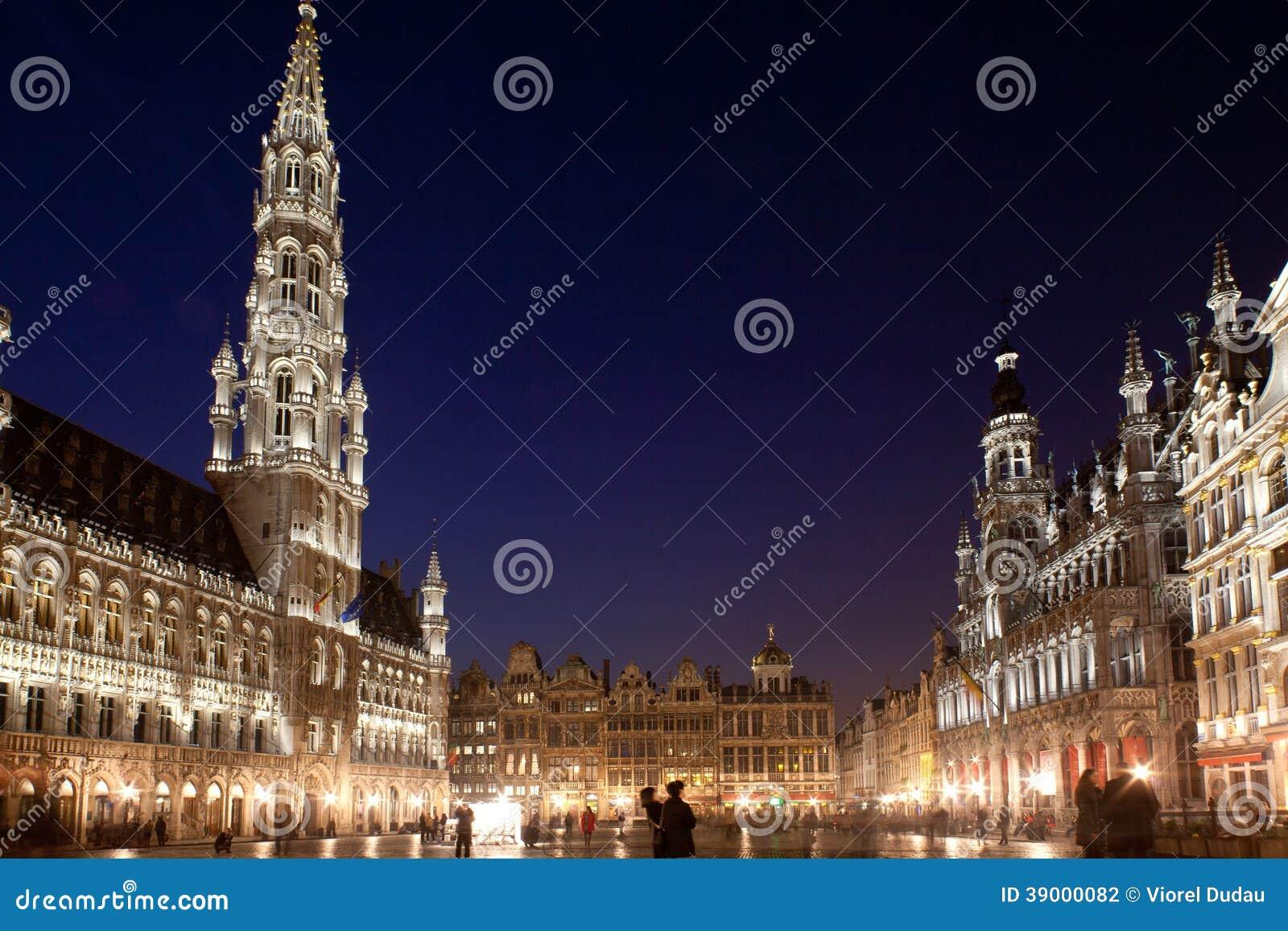 Bruksela, Uroczysty miejsce