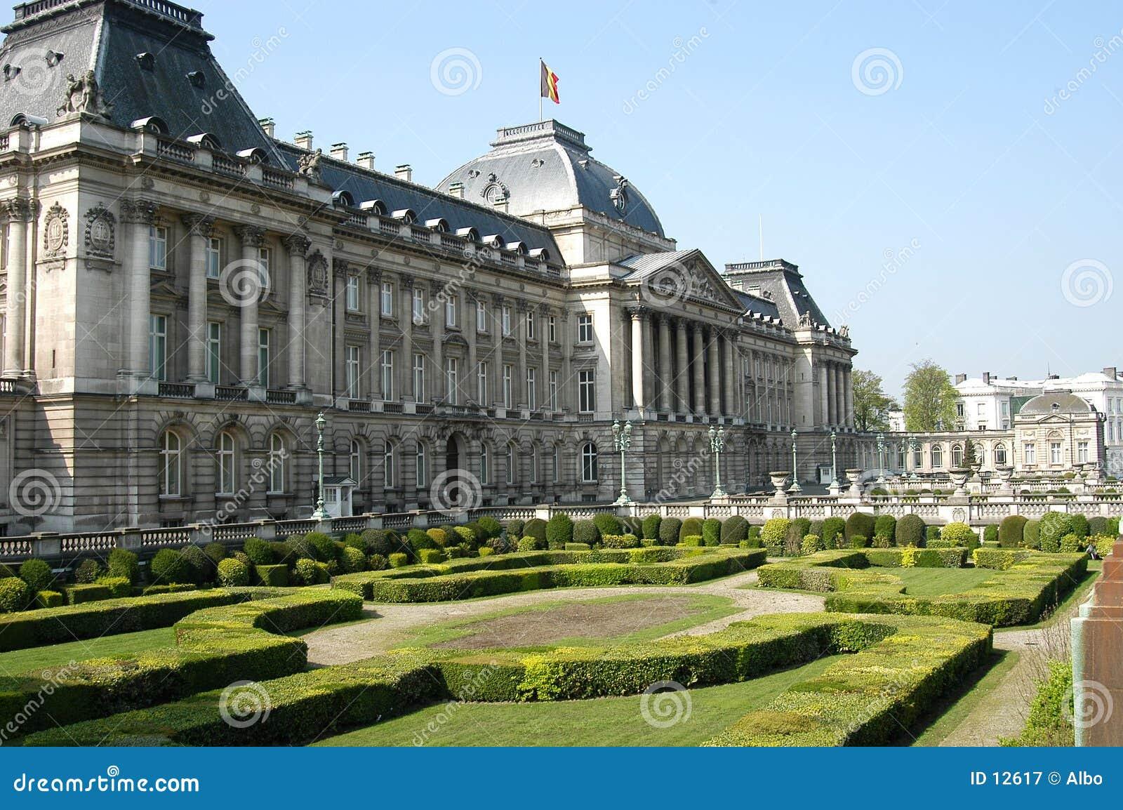 Brukseli Du Roi pałacu.