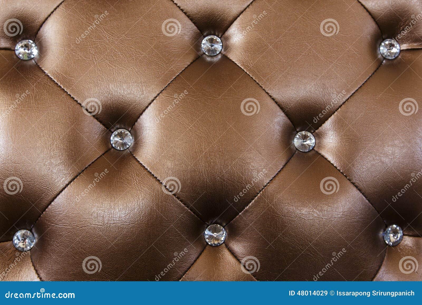Brun lädertextur