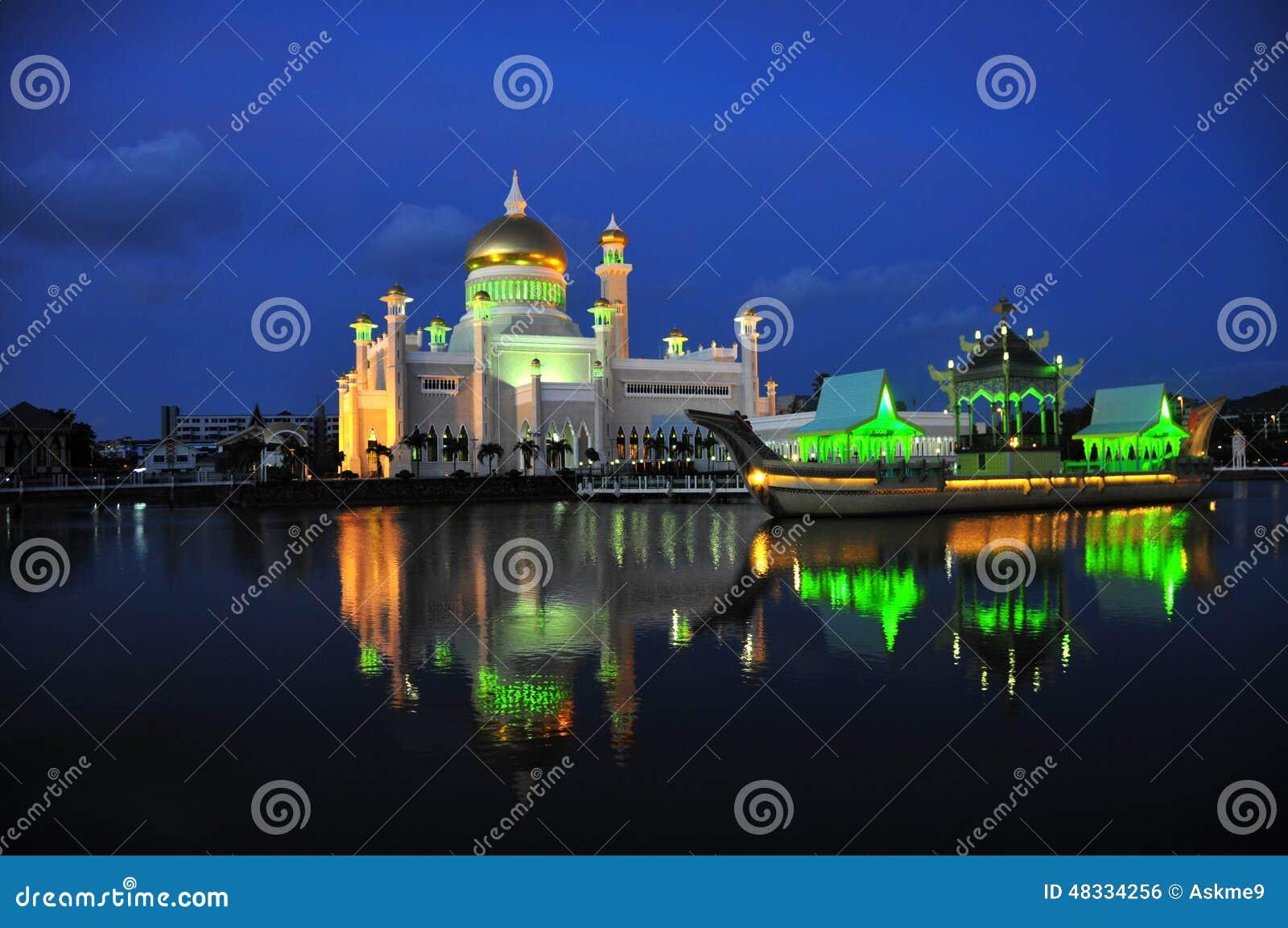 Brunei Darussalam Sultan Omar Ali Saifuddien Mosque