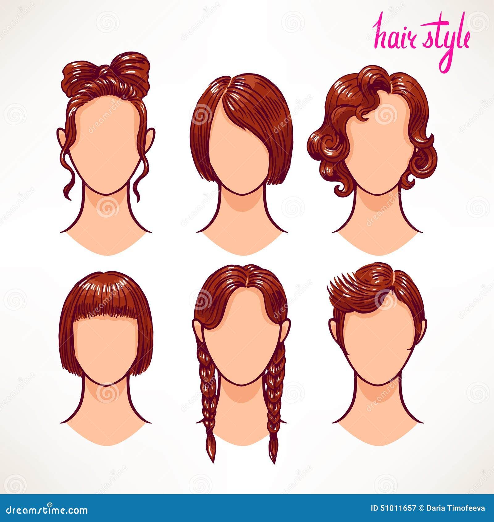 olika hår frisyrer