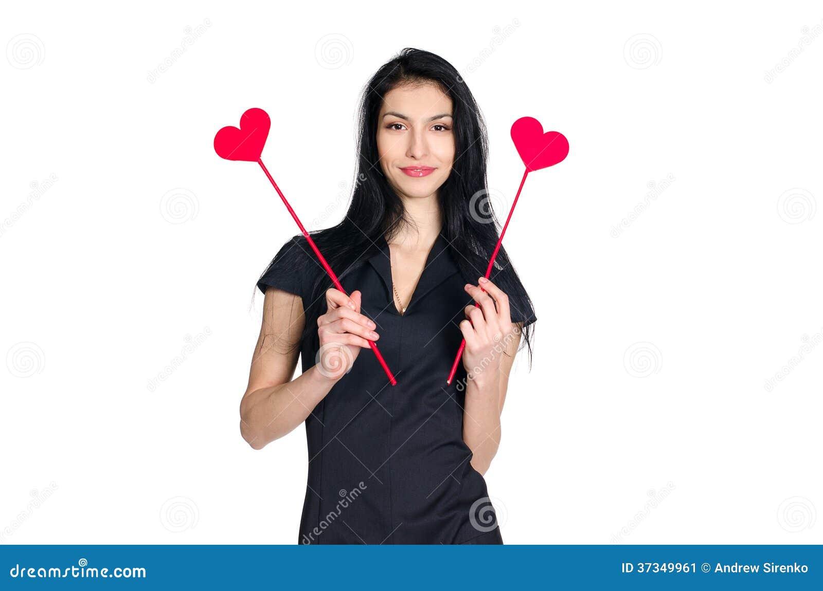 Brunette με την καρδιά