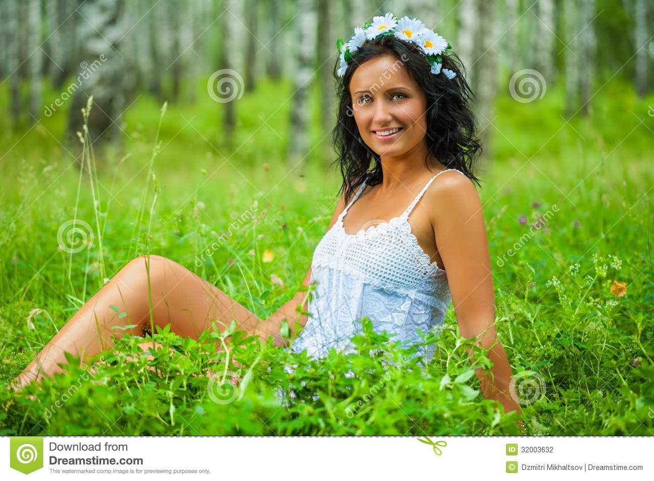 Girl resting in grass stock image. Image of lying, grass