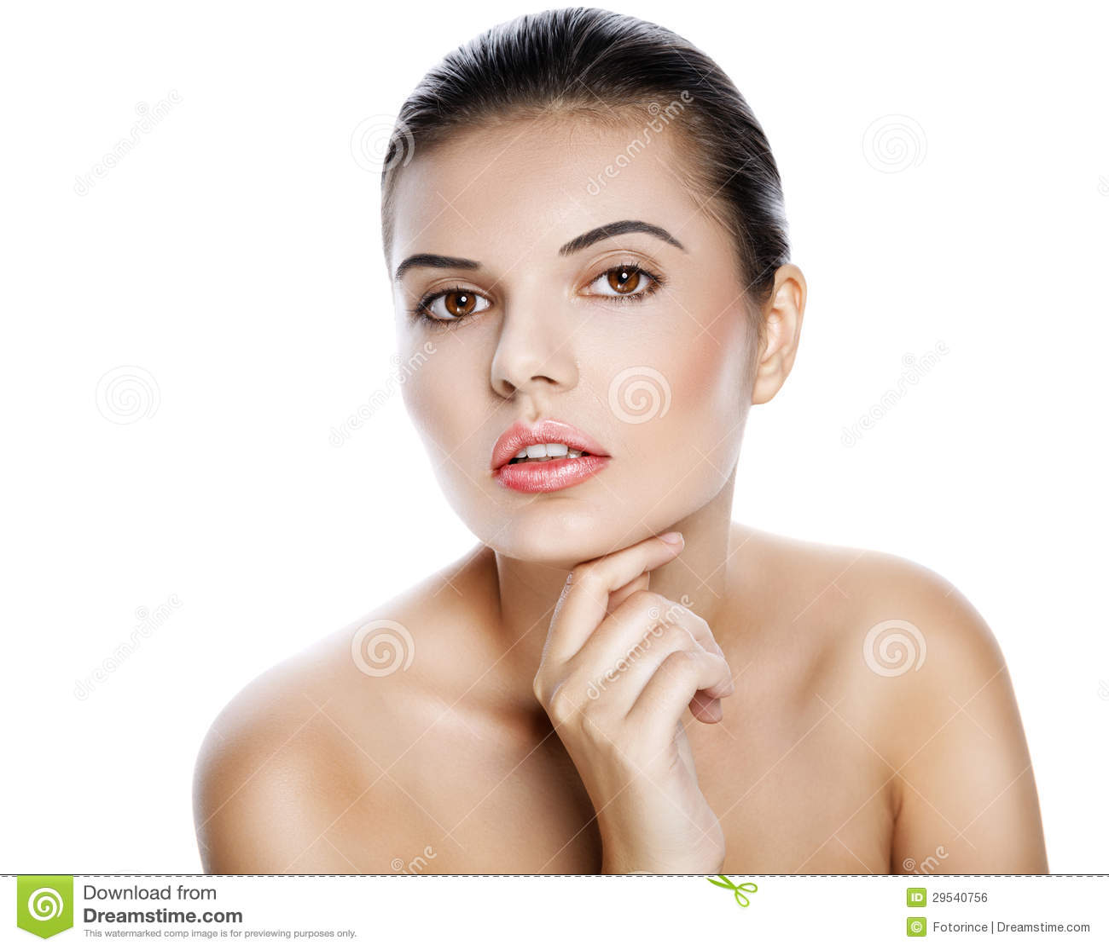 Brunette  sexy  bonito