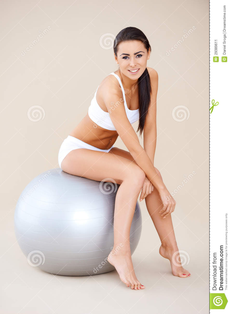 More similar stock images of brunette shapely woman resting