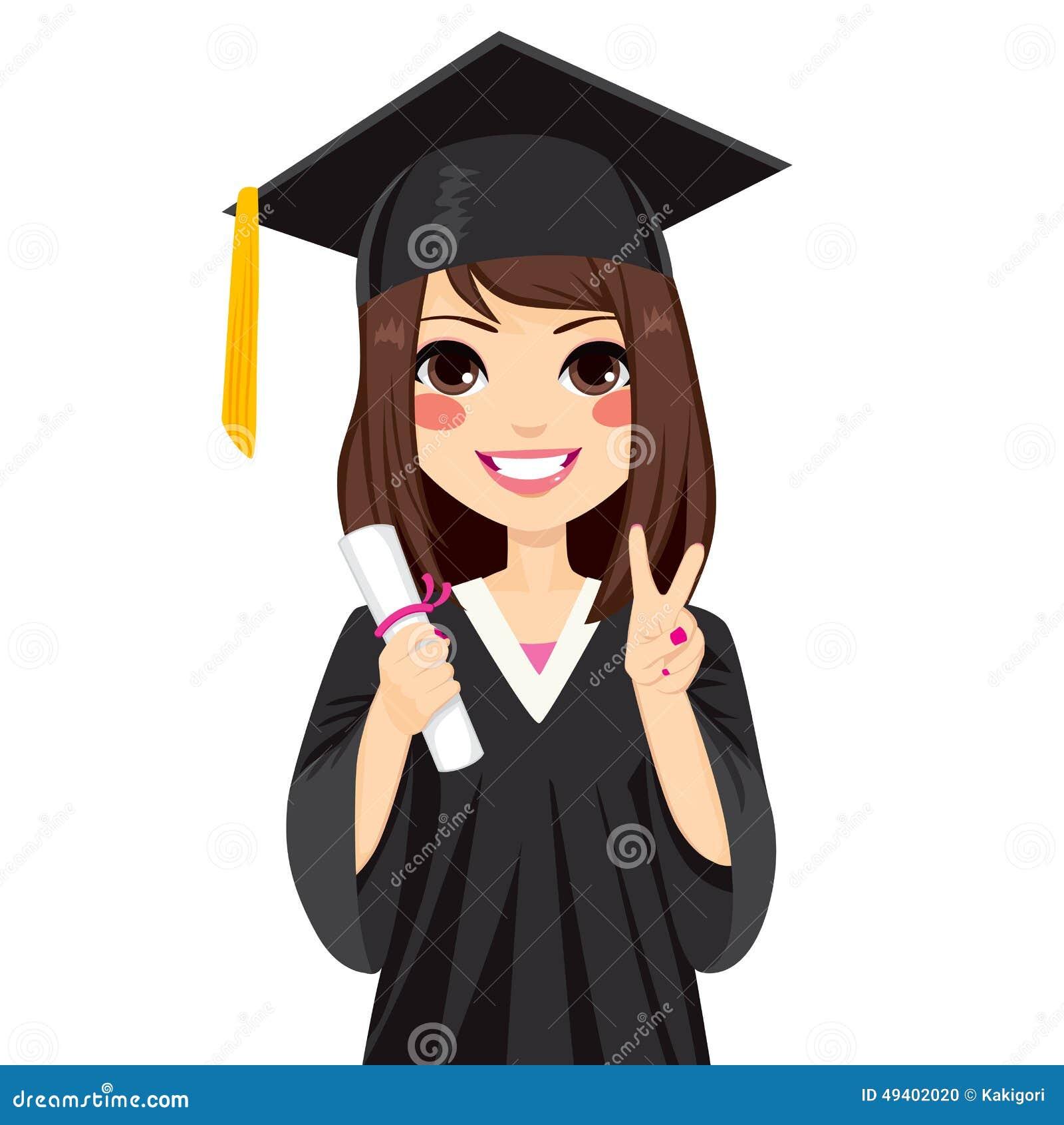 Download Brunette-Staffelungs-Mädchen Vektor Abbildung - Illustration von glücklich, freude: 49402020