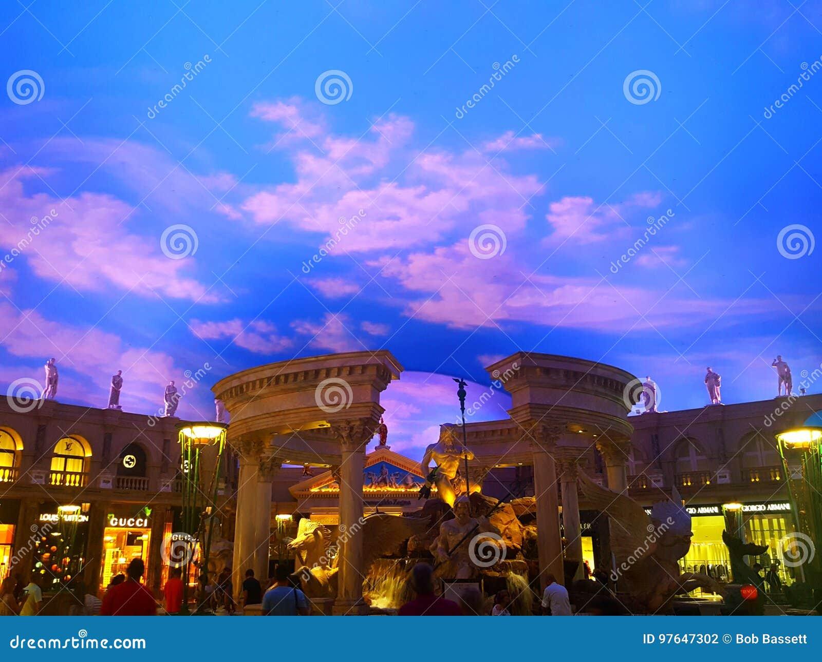 Brunnen der Götter an Caesar-` s Palast