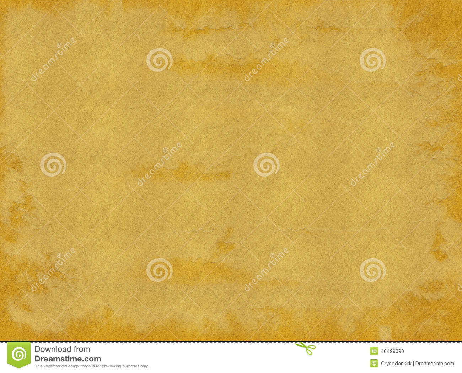 Brunt och guld bedrövad pappers- texturbakgrund