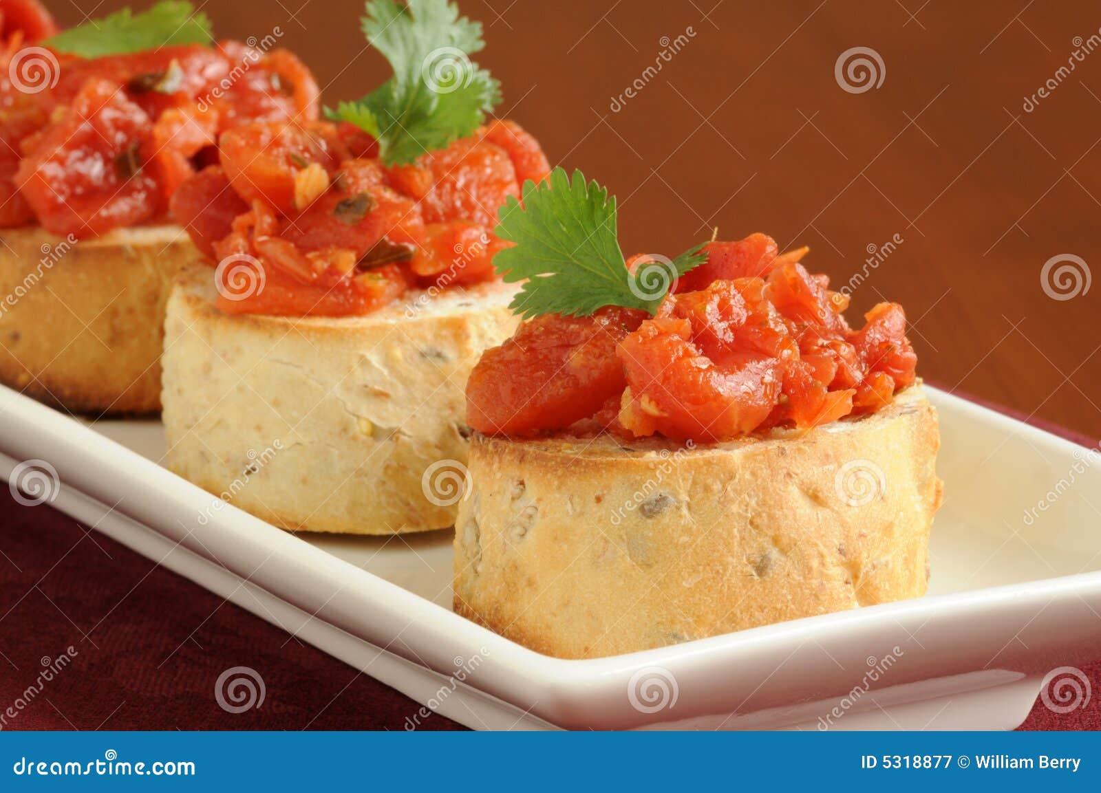 Download Bruschetta 2 immagine stock. Immagine di pane, italiano - 5318877