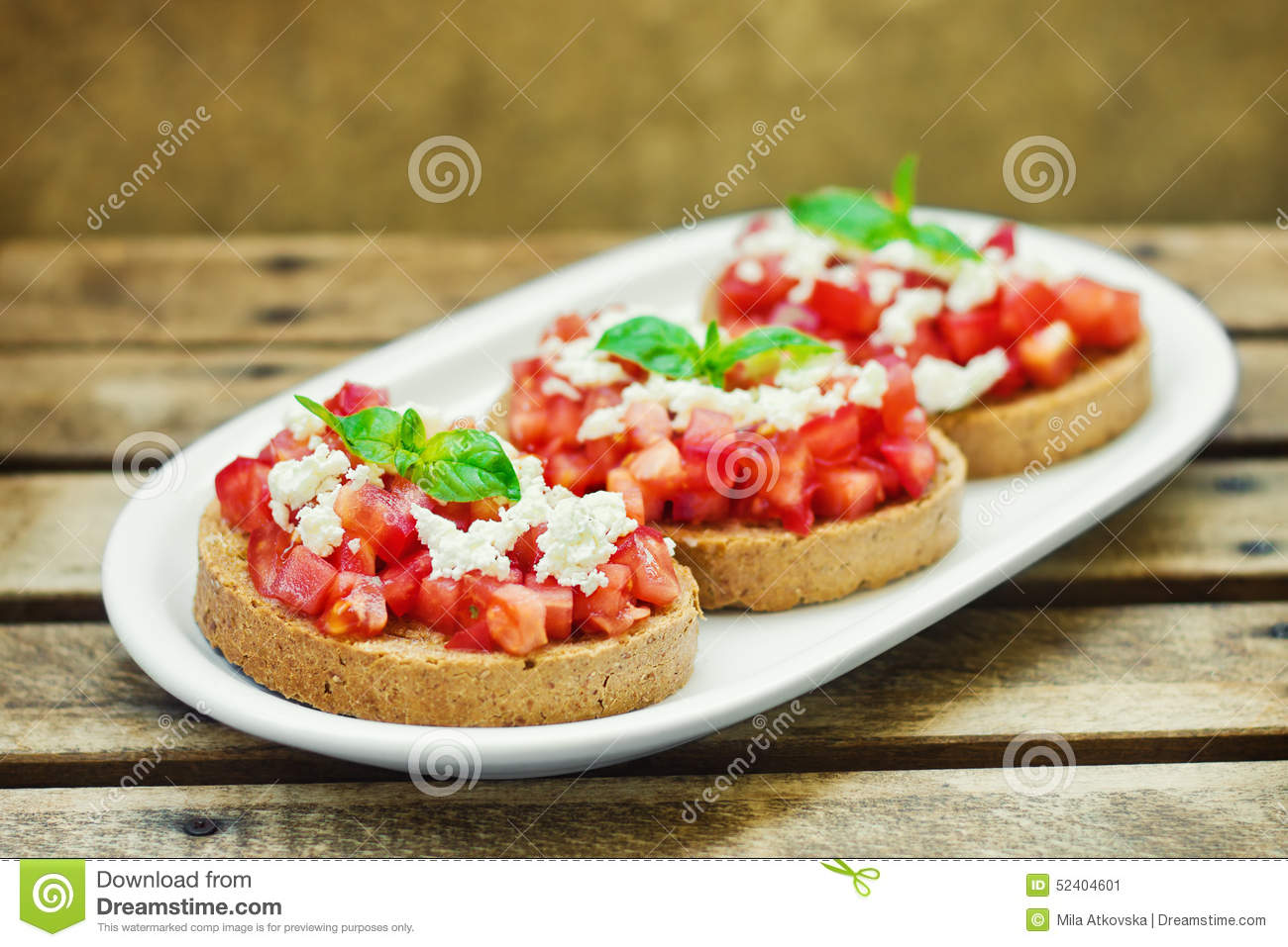 Bruschetta Italian Toasted Garlic Bread With Tomato Cheese Stock Image Image Of Antipasto Garlic 52404601