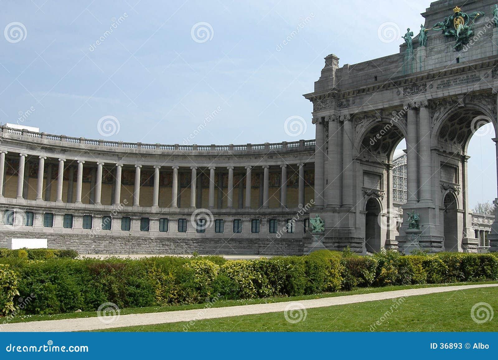 Download Bruselas: Parc Du Cinquantenaire Imagen de archivo - Imagen de historia, histórico: 36893