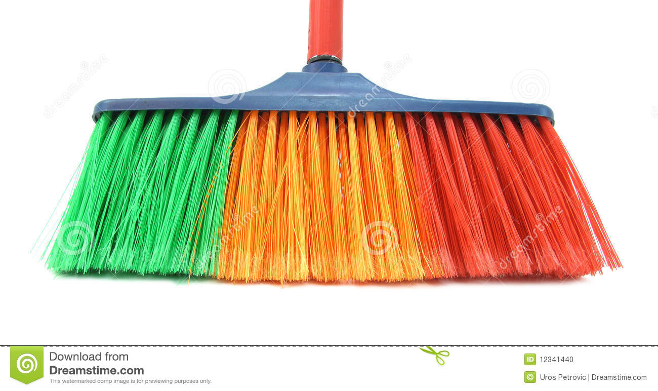 Brush For Cleaning House Stock Photo Image 12341440
