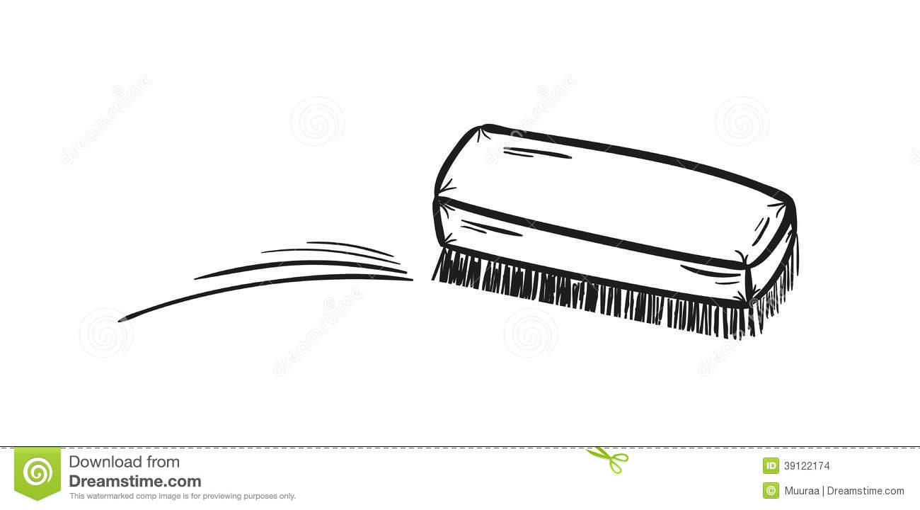 Brush And Cleaning Up Stock Vector Image 39122174