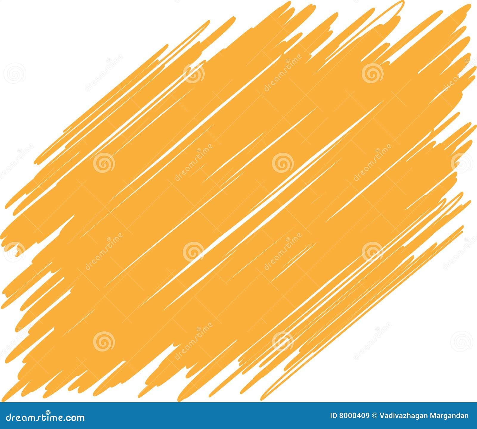 brush stroke stock vector illustration of object stain
