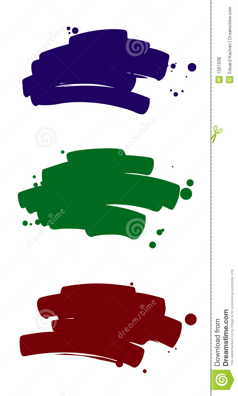 Brush Strokes 2 Royalty Free Stock Photos Image 1561938