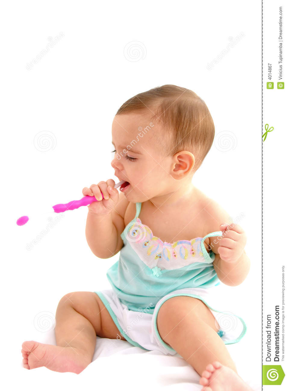 Brush The Teeth Royalty Free Stock Photography Image