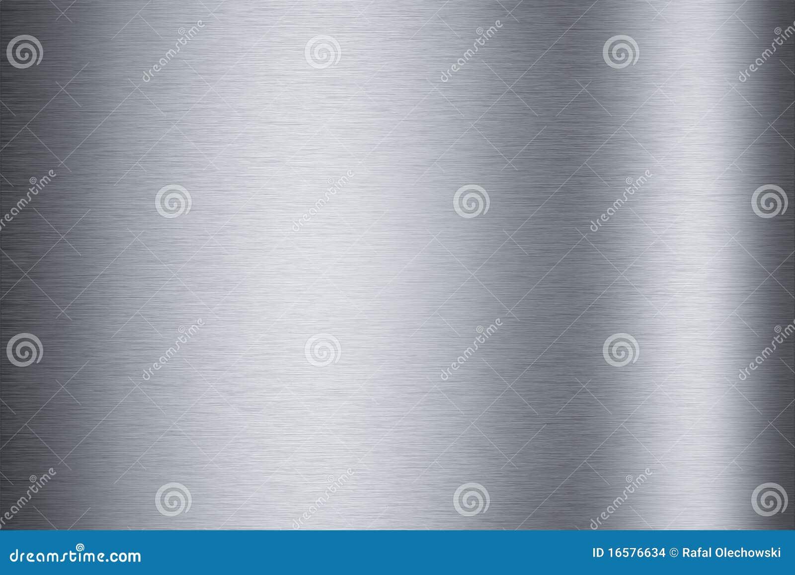 Brushed aluminum background texture