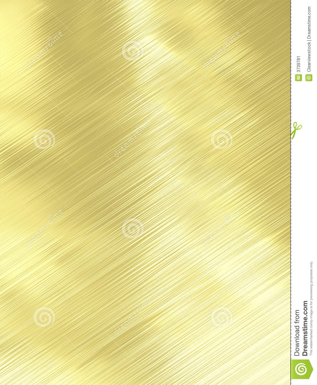 Brushed Gold Metal Texture Stock Illustration Image Of