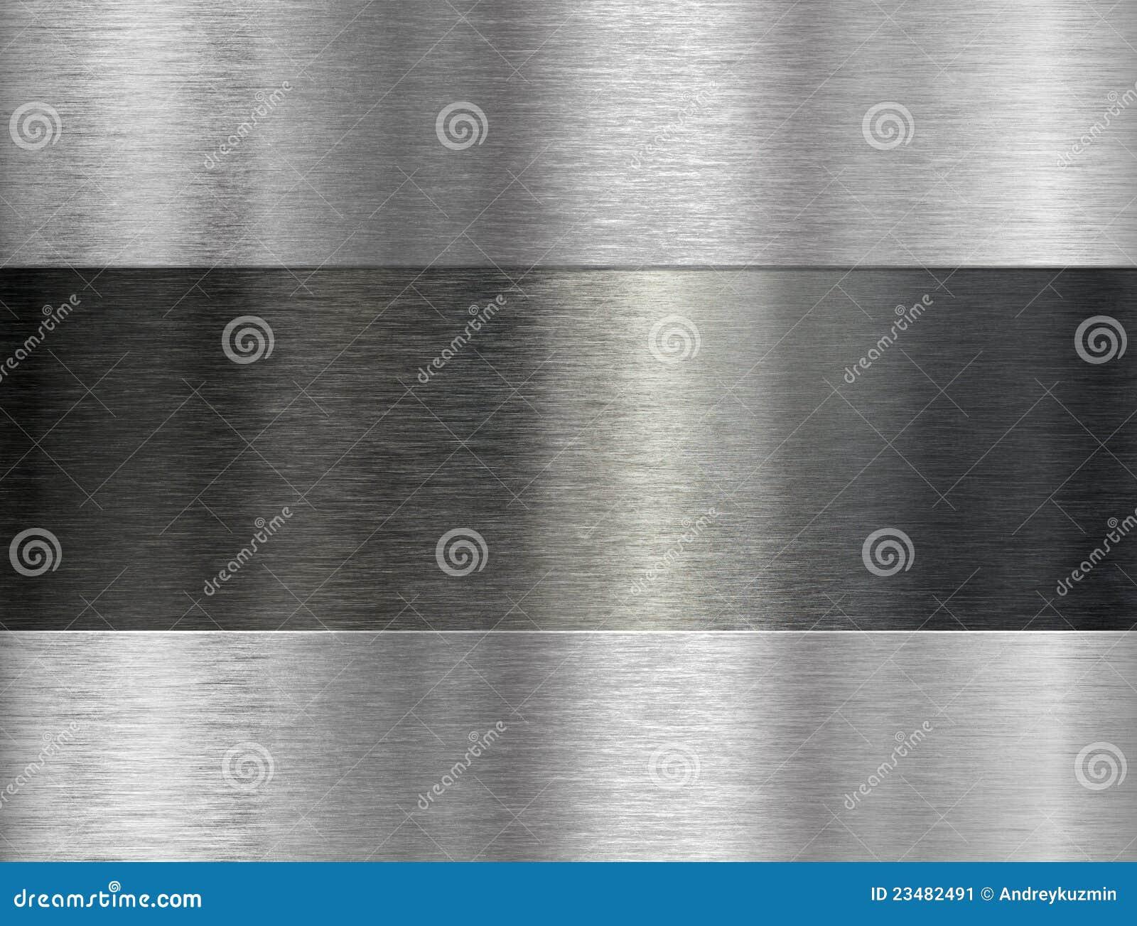 Brushed metal industrial background