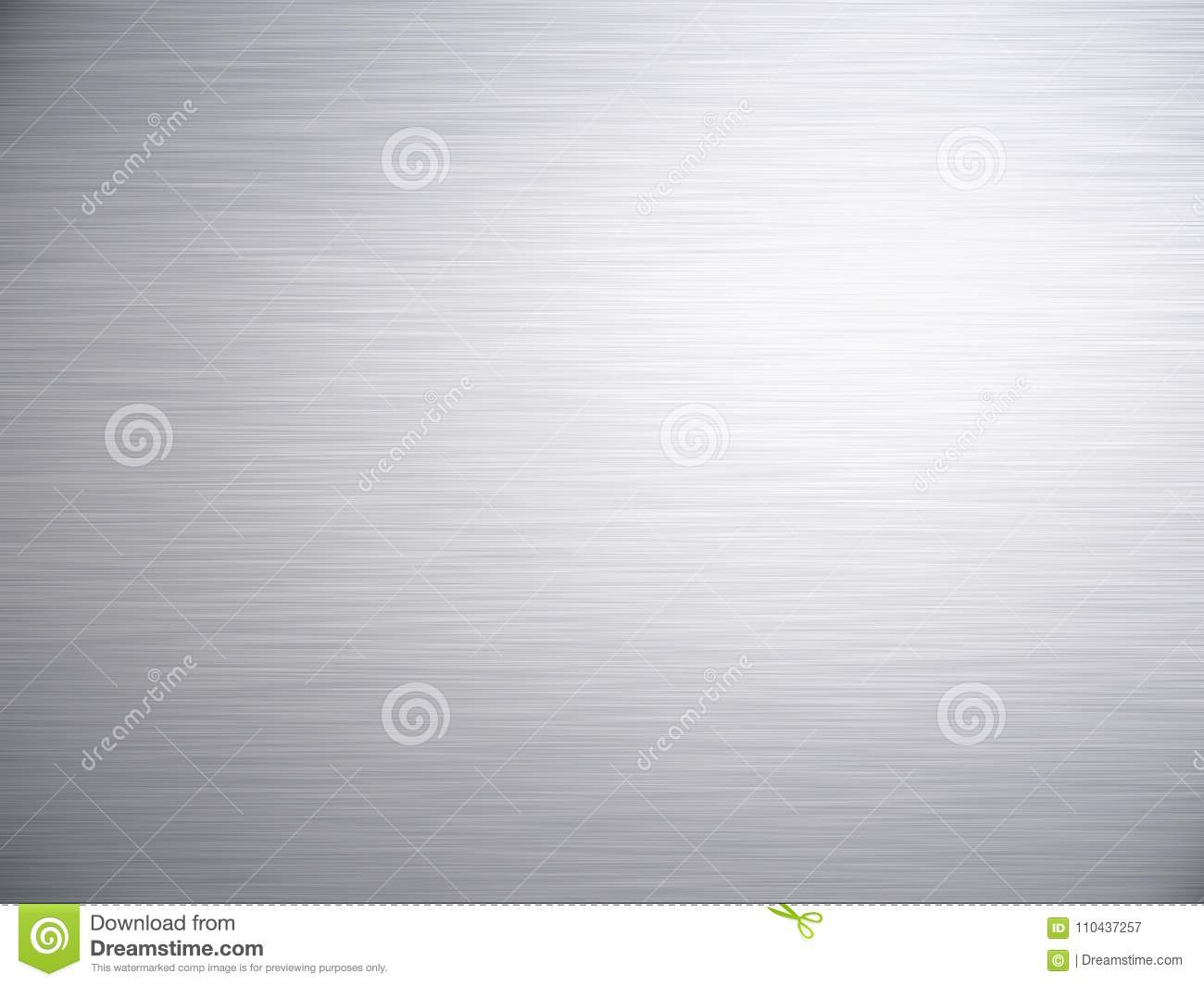 Brushed Steel Aluminium Metal Background Texture
