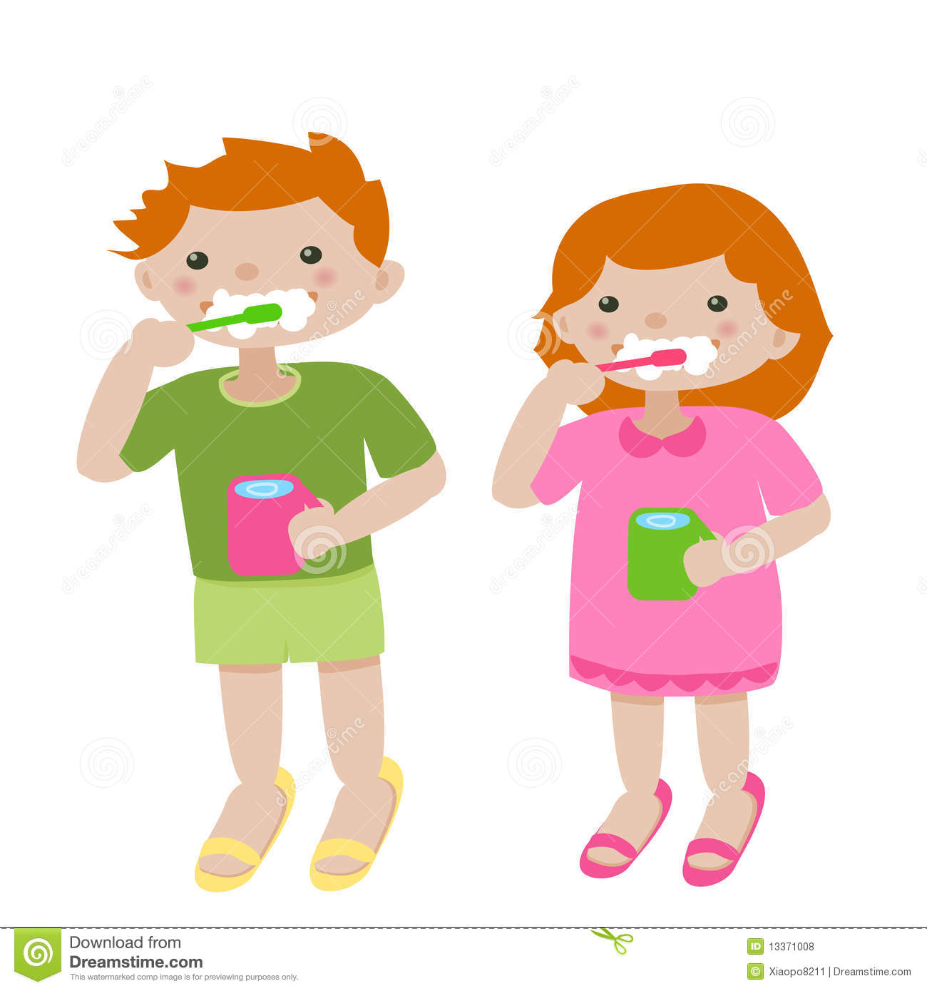 Suggestions Online | Images of Boy Brushing Teeth Clipart