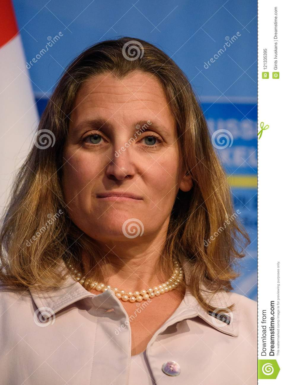 Chrystia Freeland, Minister of Foreign Affairs of Canada