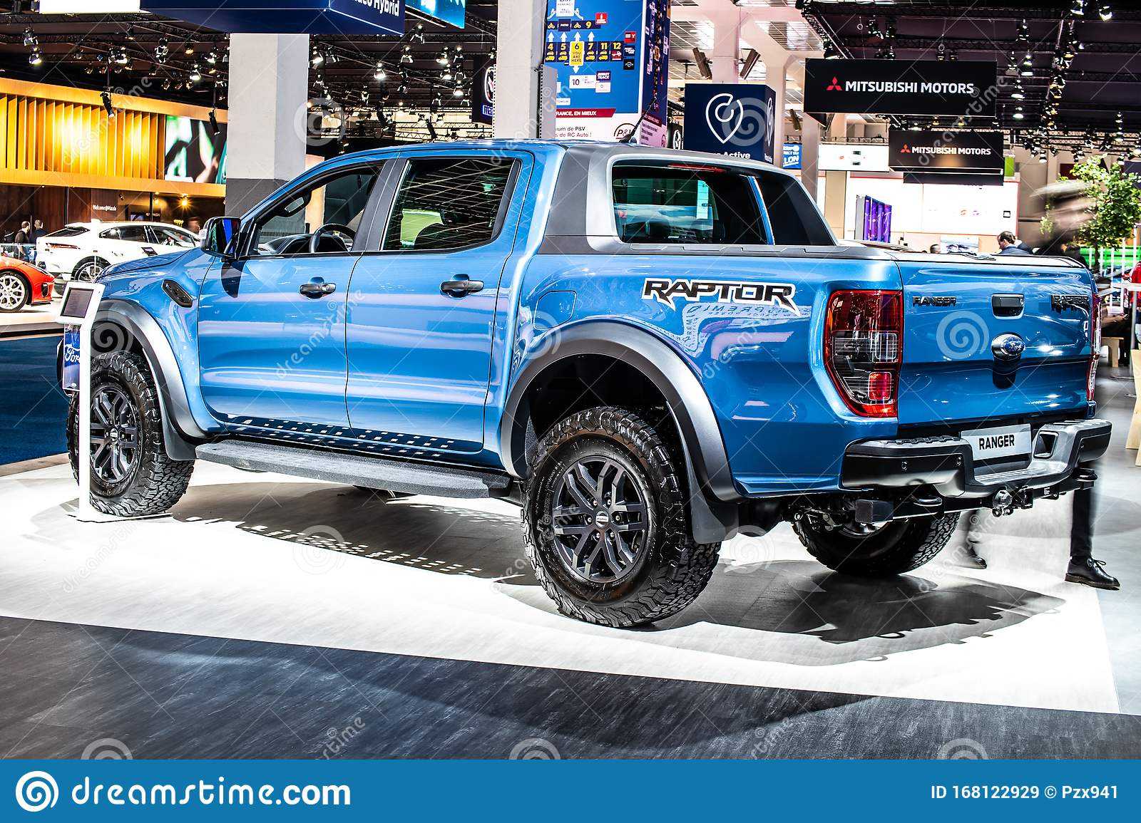 Blue Ford Ranger Iii Raptor Pickup Truck Brussels Motor Show 3rd Gen Produced By American Automaker Ford Motor Co Editorial Stock Image Image Of Design Concept 168122929