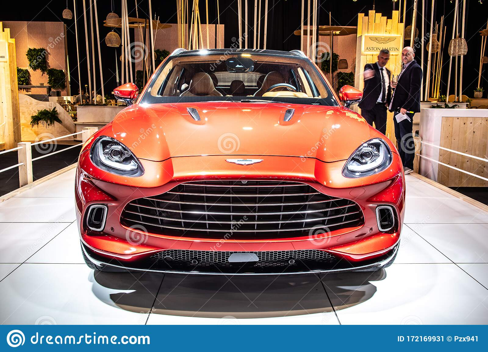Aston Martin Dbx At Brussels Motor Show Dream Cars British All Wheel Drive Luxury Crossover Suv Produced By Aston Martin Editorial Photo Image Of Motor Modern 172169931