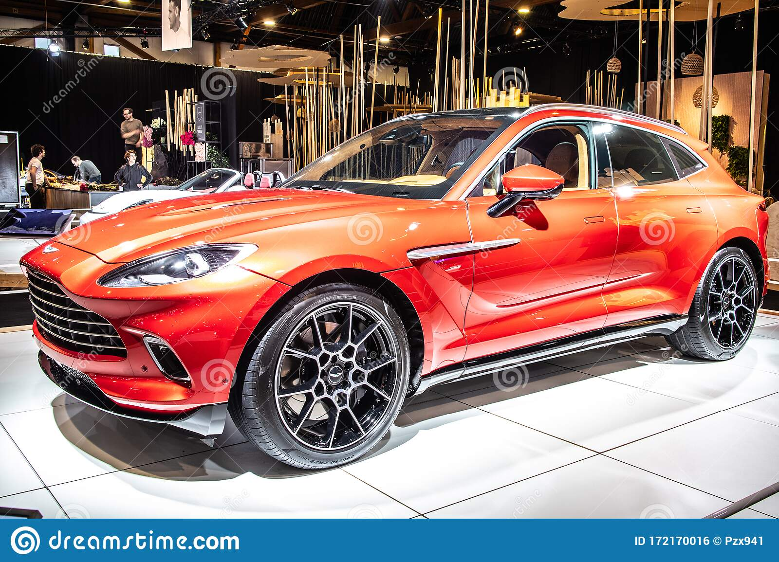 Aston Martin Dbx At Brussels Motor Show Dream Cars British All Wheel Drive Luxury Crossover Suv Produced By Aston Martin Editorial Photo Image Of Concept Brussels 172170016