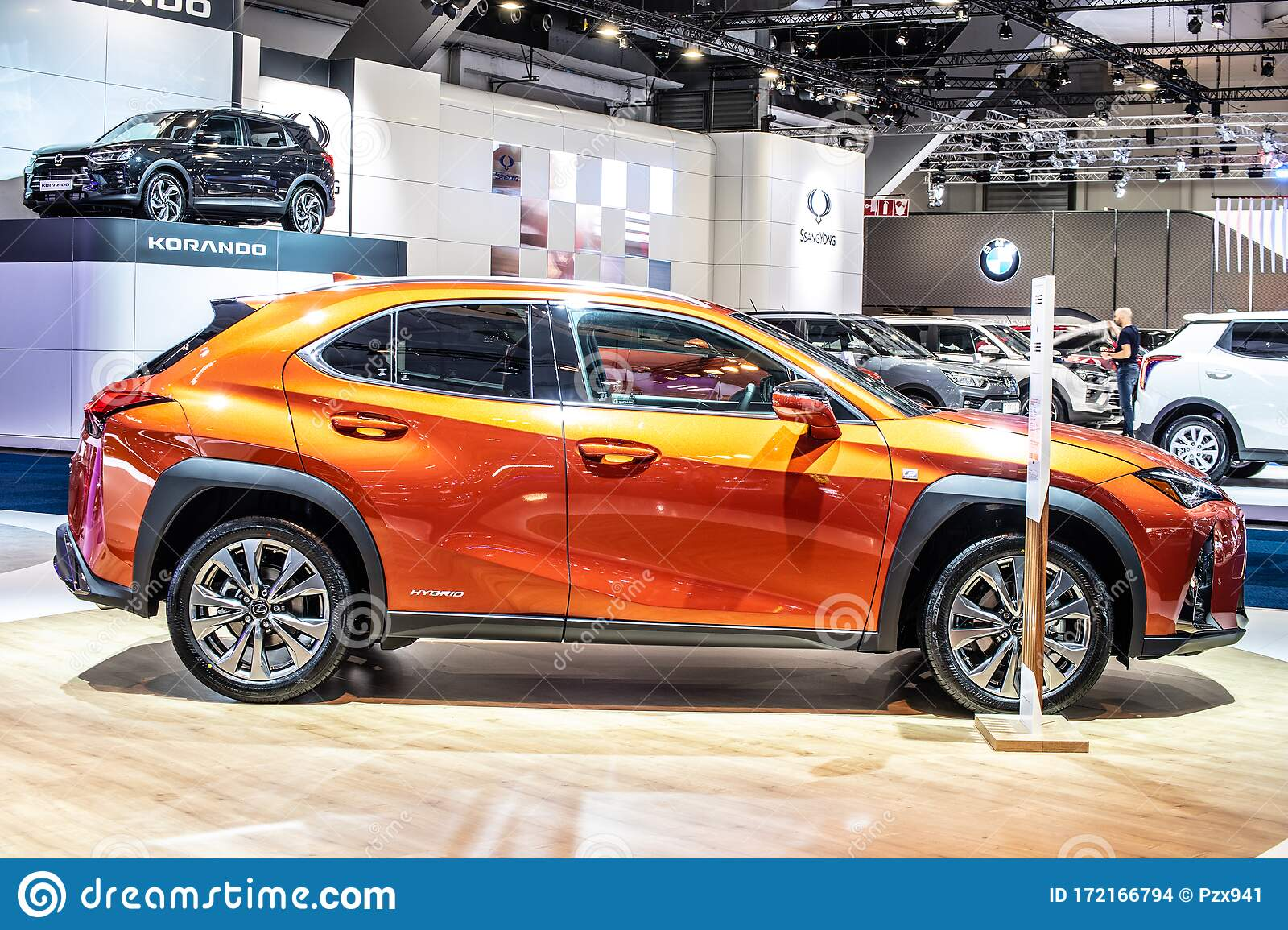 New Lexus Ux 250h Hybrid Compact Luxury Crossover At Brussels Motor Show Suv Produced By Japanese Car Maker Lexus Editorial Stock Image Image Of Lexus Expensive 172166794