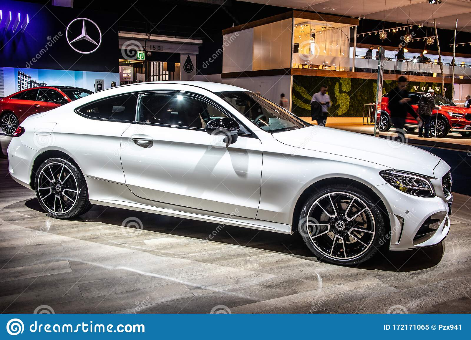 Mercedes C Classe Coupe C180 Brussels Motor Show Mra Platform 4th Gen C205 C Class Car Produced By Mercedes Benz Editorial Image Image Of Generation C180 172171065