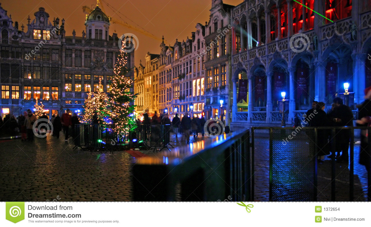 Brussels christmas